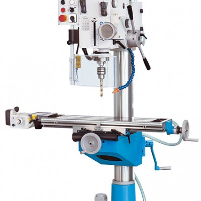 Column Drill Press with Milling Function