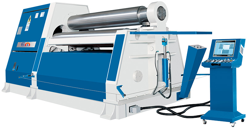 Hydraulic 4-Roller Roll Bending Machine